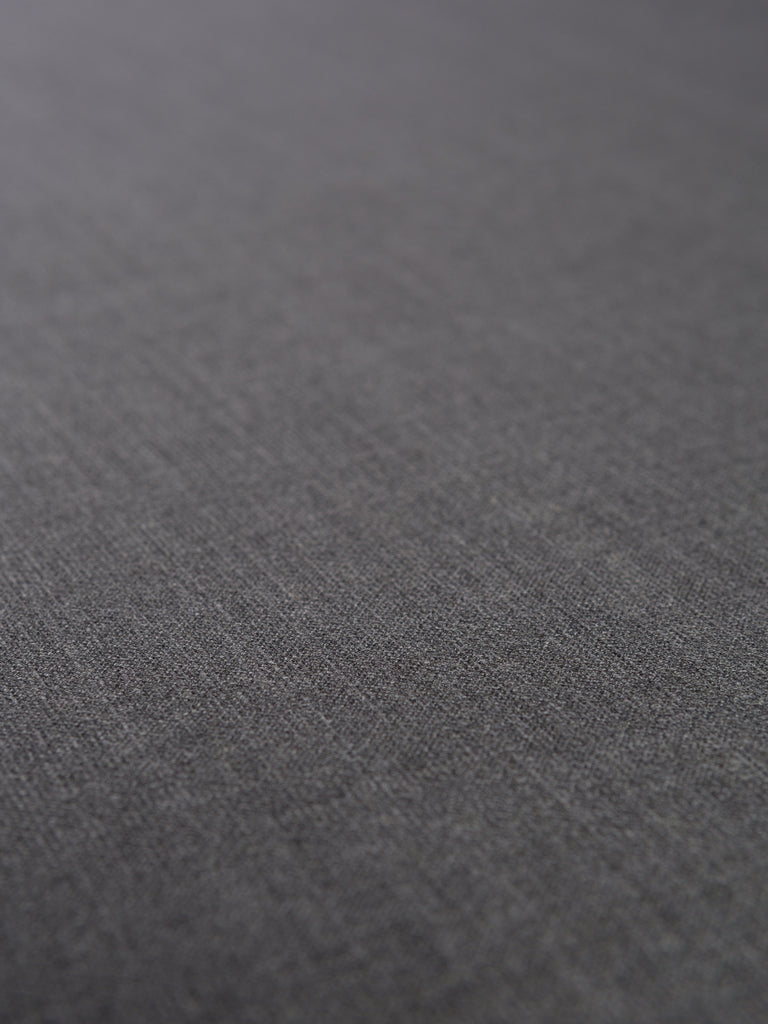 Cross Hatch Grey - Stretch Wool Suiting