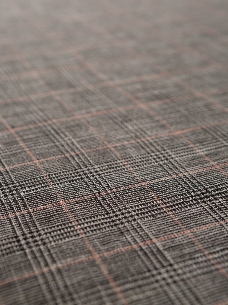 Superfine (Linen & Cotton) Prince's Check - Fabworks Online