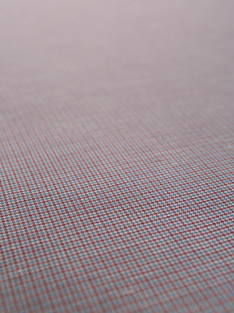 Jaunty Oxford Check - Cotton Suiting - Fabworks Online