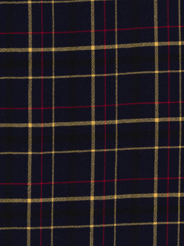AVOCA Classic Plaid – French Navy - Fabworks Online