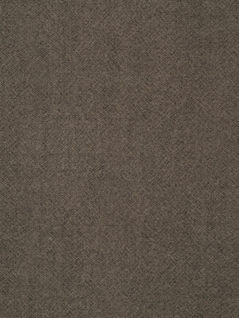 Taupe Worsted – A finely woven, slightly heavier, drapey and fine worsted wool that is woven with a black warp and light beige weft, producing a medium taupe colour in a fine basket-like weave.