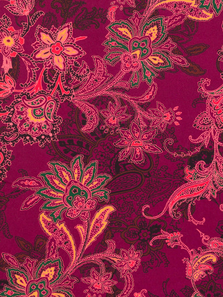 Fire Flower Paisley - Fabworks Online