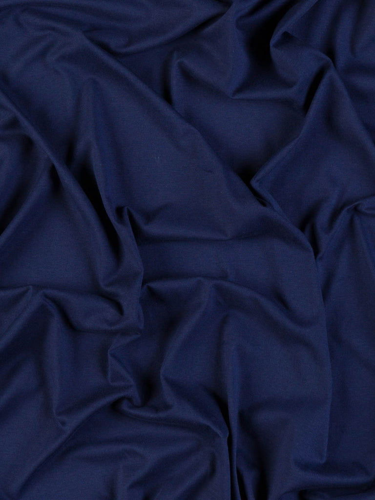 Blue Ink - Cotton & Elastane - Single Jersey