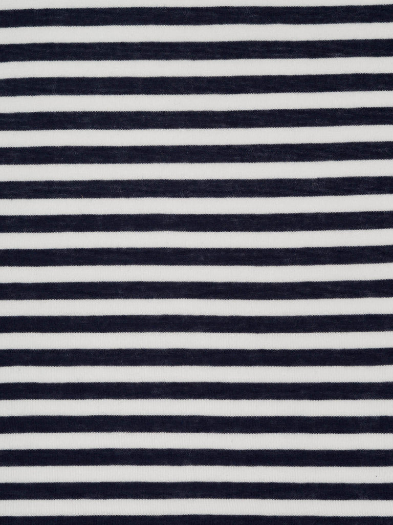 Narrow Stripe – Navy and White