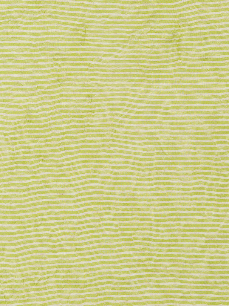 Crinkled Lime Stripe