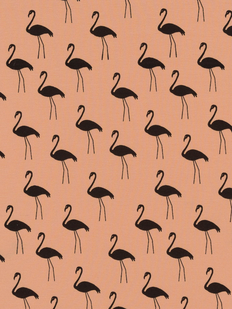 Flamingos Ponte Interlock - Bisque