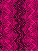 Fuschia Tribal Zigzag
