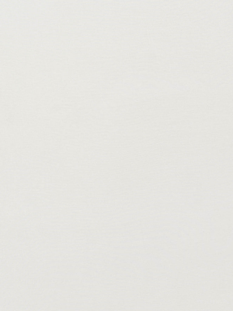 Milk White Superfine Single Jersey - Fabworks Online