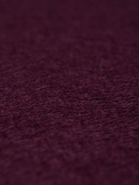 Blackberry Wine Long Pile Mohair