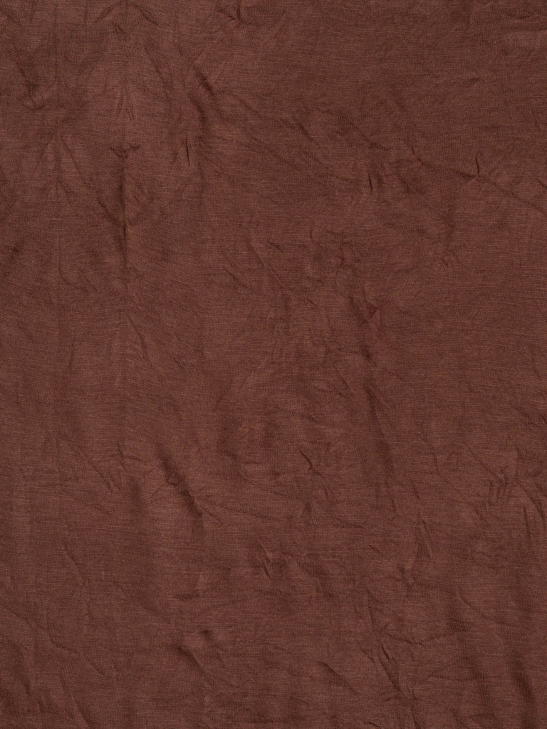 7079fa6a387 AVOCA Lightweight fine-knit polyester jersey with crinkle effect. No  pattern – milk chocolate