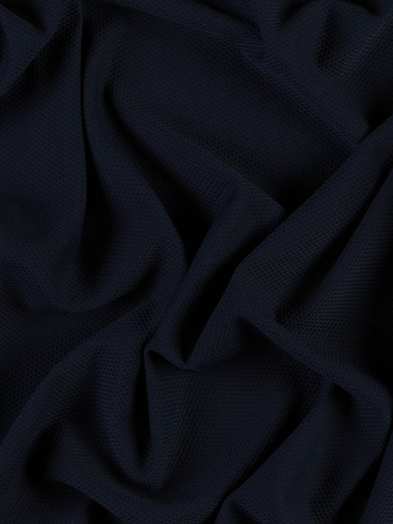 Sports Luxe Honeycomb - Navy