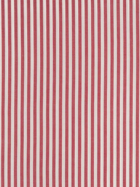Even Stripes – Dark Red & White - Fabworks Online