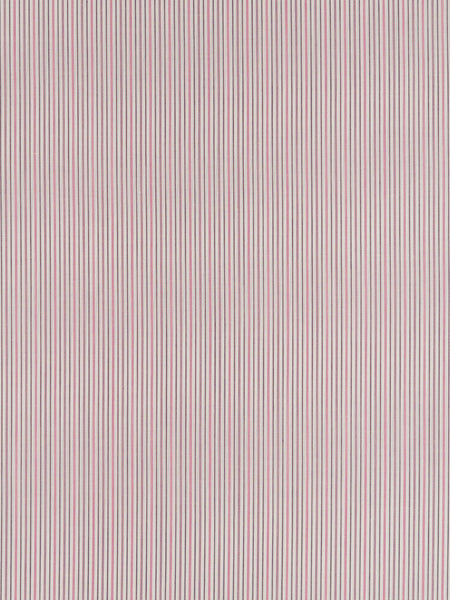 Lightweight 100% cotton fabric. Multistripe in purple and pink on a natural background
