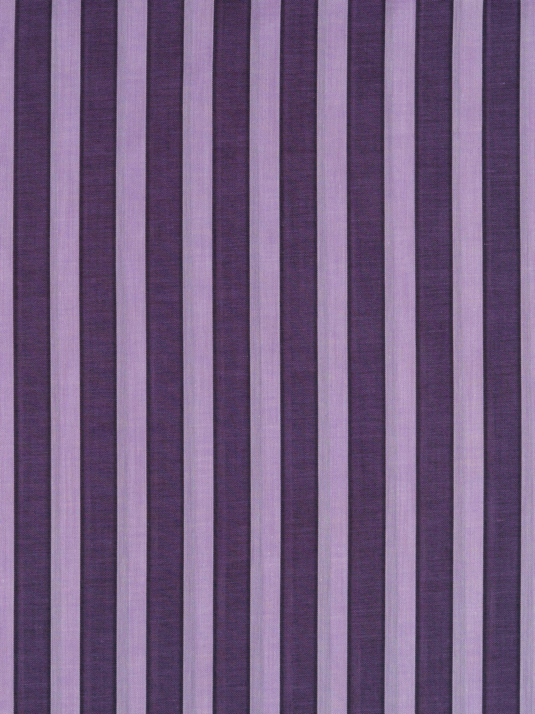 Silky Voile Shadow Stripe - Purple & Lilac - Fabworks Online