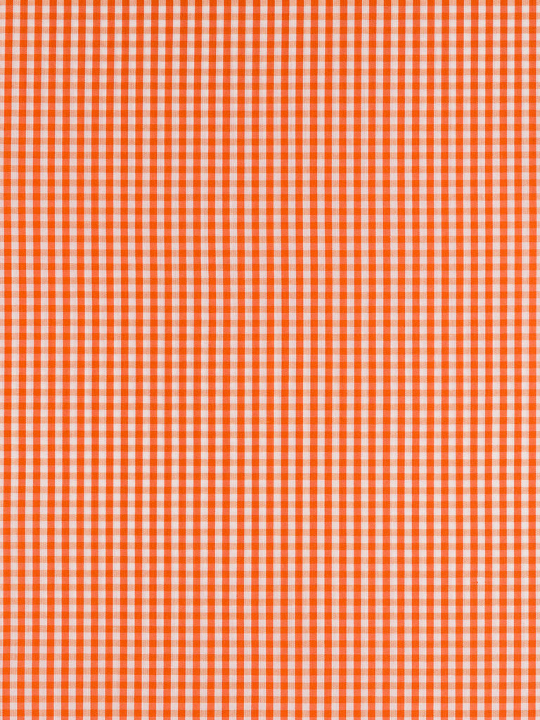 Tiny Gingham Check - Burnt Orange