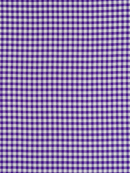 100 Cotton Fabric Oxford Gingham Purple And White