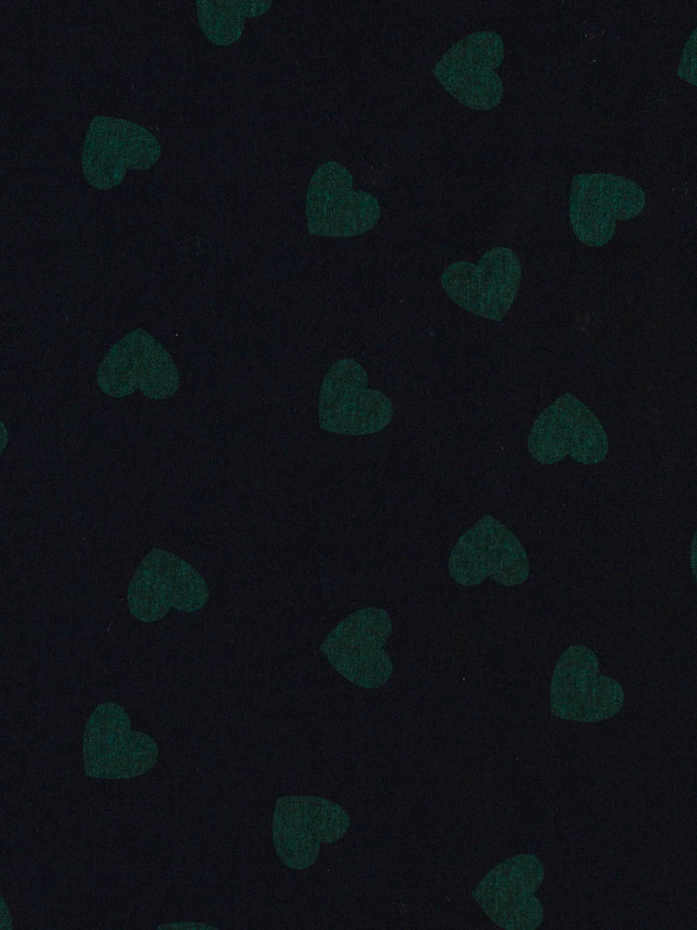 Lonely Hearts Club - Brushed Ponte (Emerald) - Fabworks Online