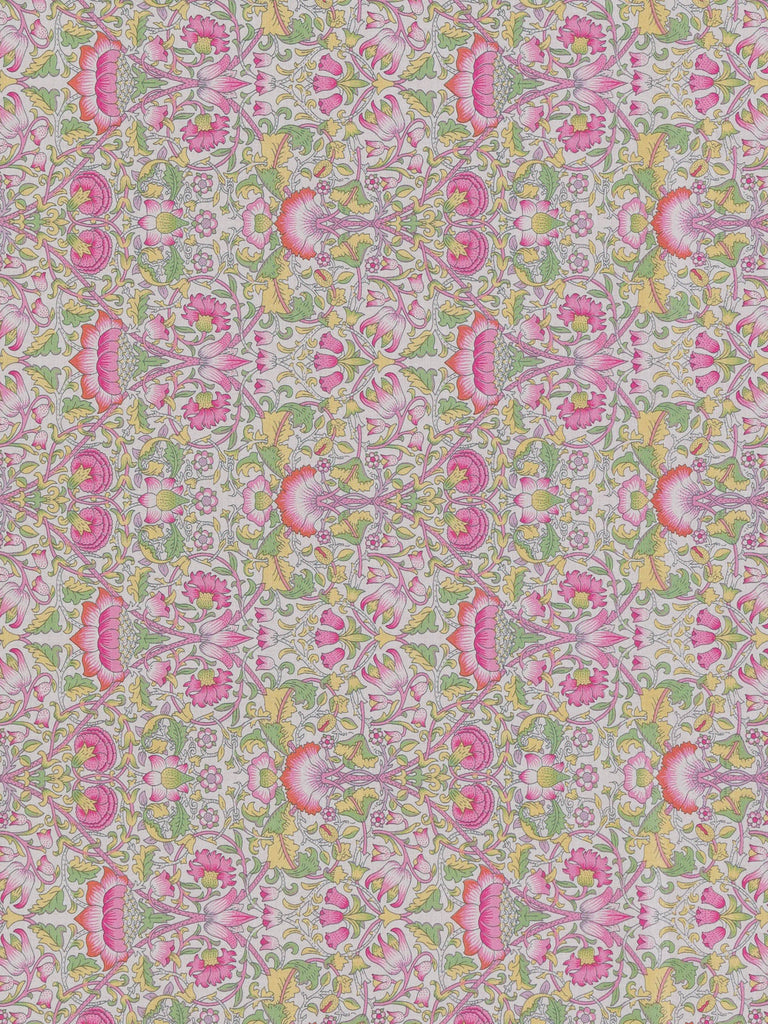 Liberty Lawn - Lodden - Pink/Green - Fabworks Online