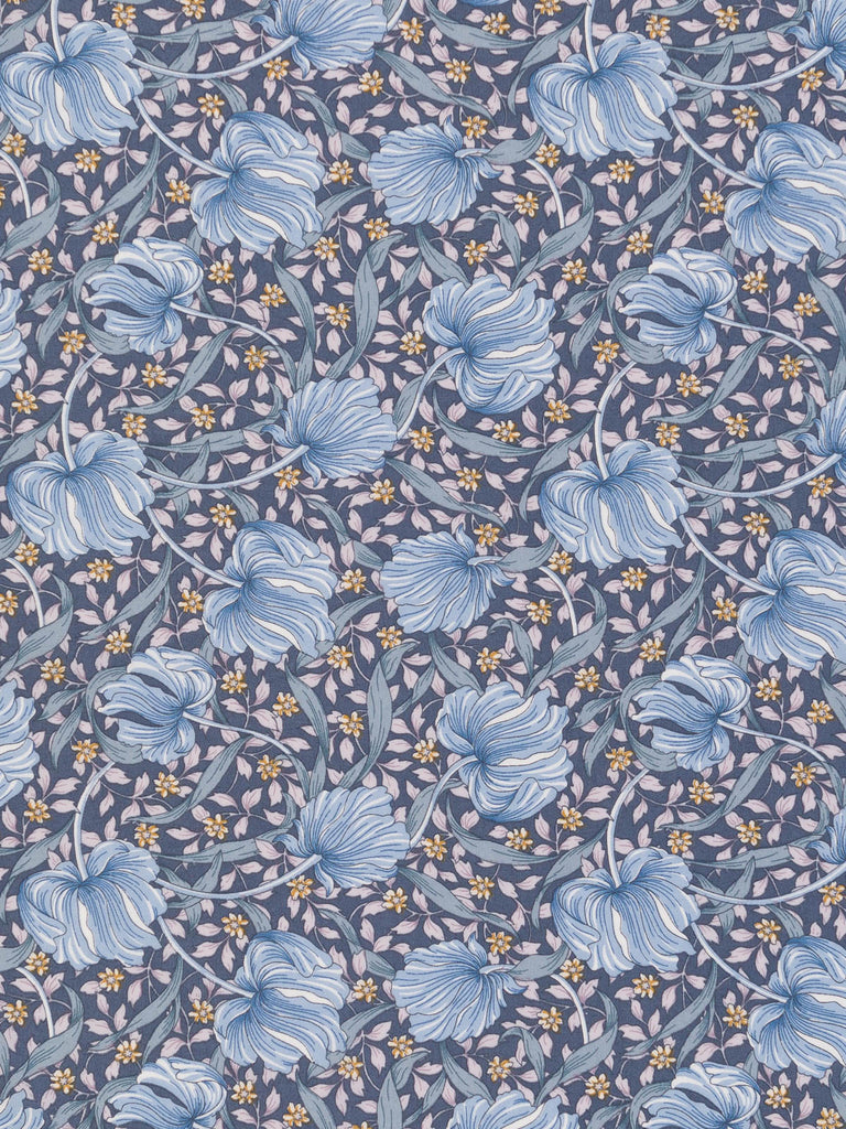 Liberty Lawn - Latvian Lattice - Washed Blues