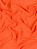 Oh So Soft Crepe de Chine - Flame Orange