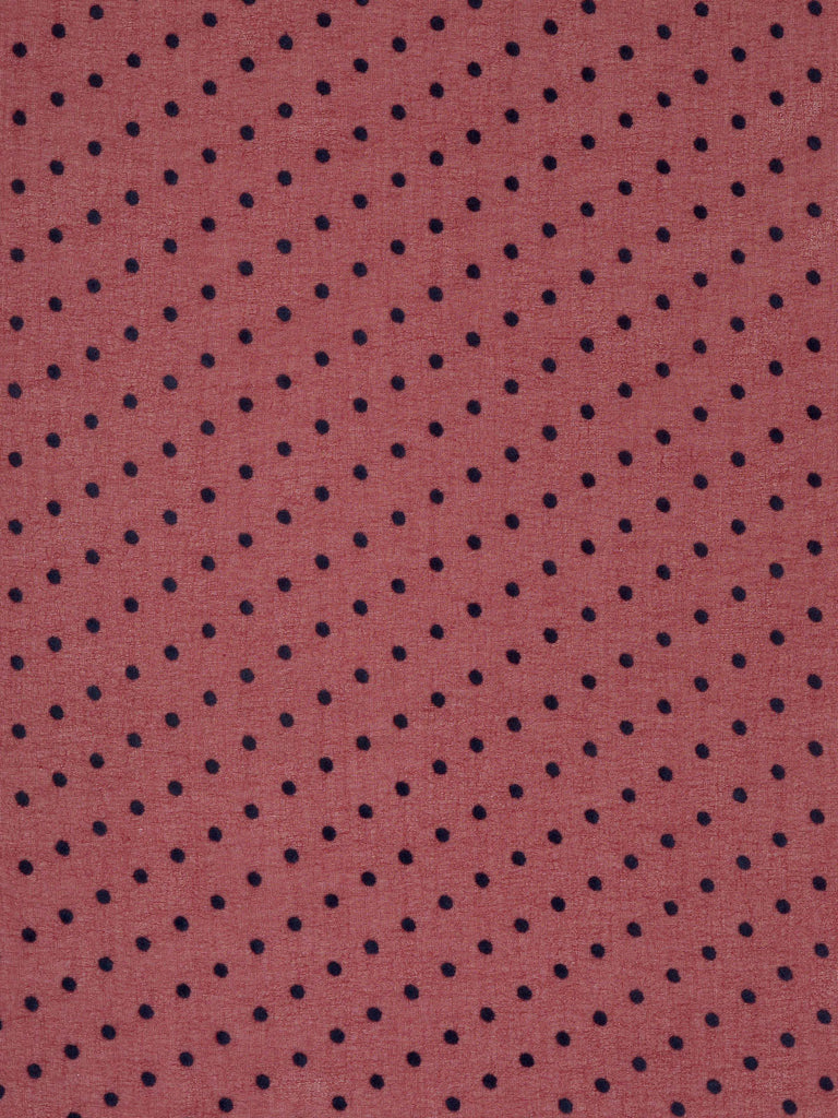 Polka Dot – Wine Red