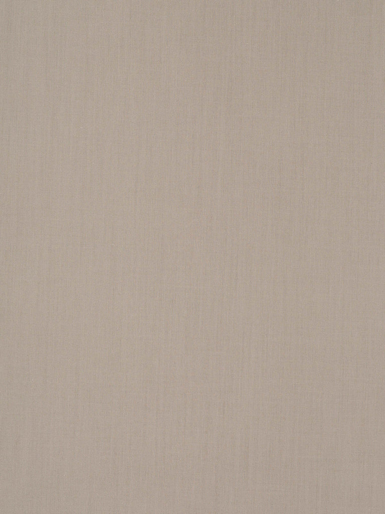 Lightweight polycotton shirting fabric. Beige – no pattern