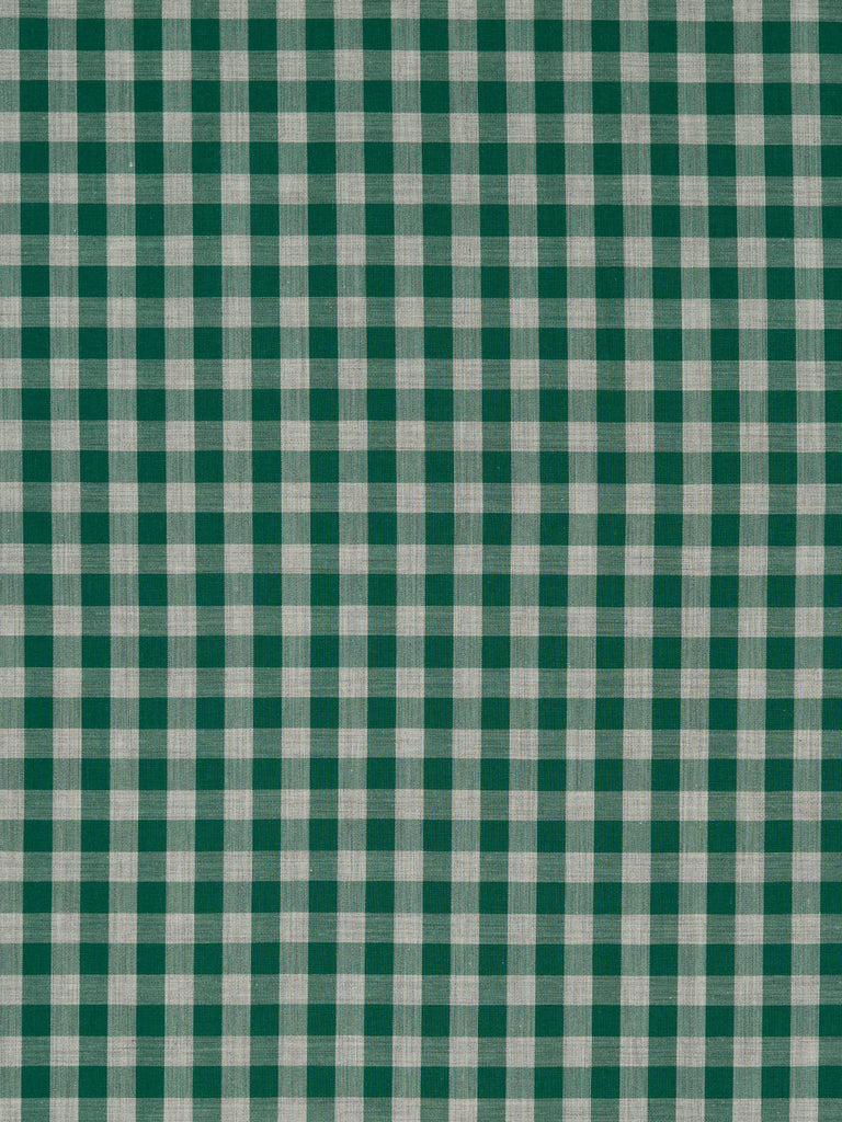 Racing Green & Marled Grey Gingham