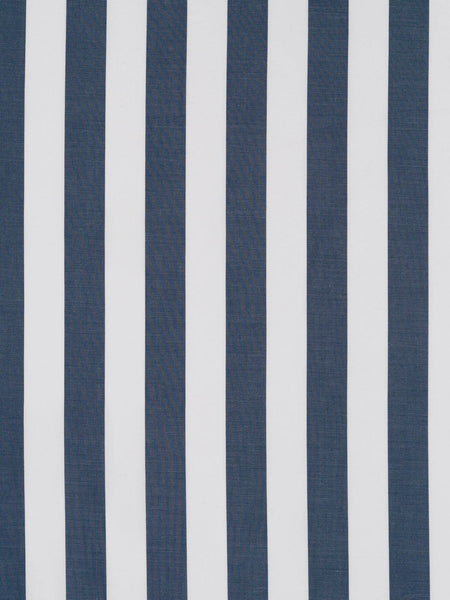 16mm Wide Stripe – Slate Grey and White - Fabworks Online