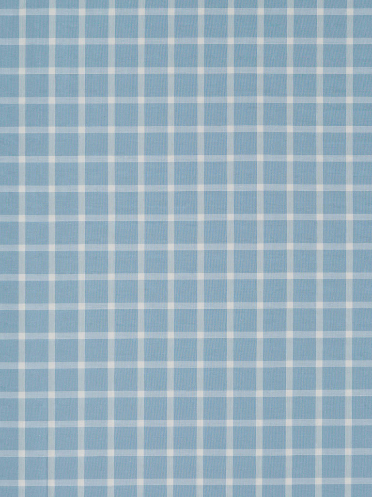 Thick White Check – Pale Blue/Grey