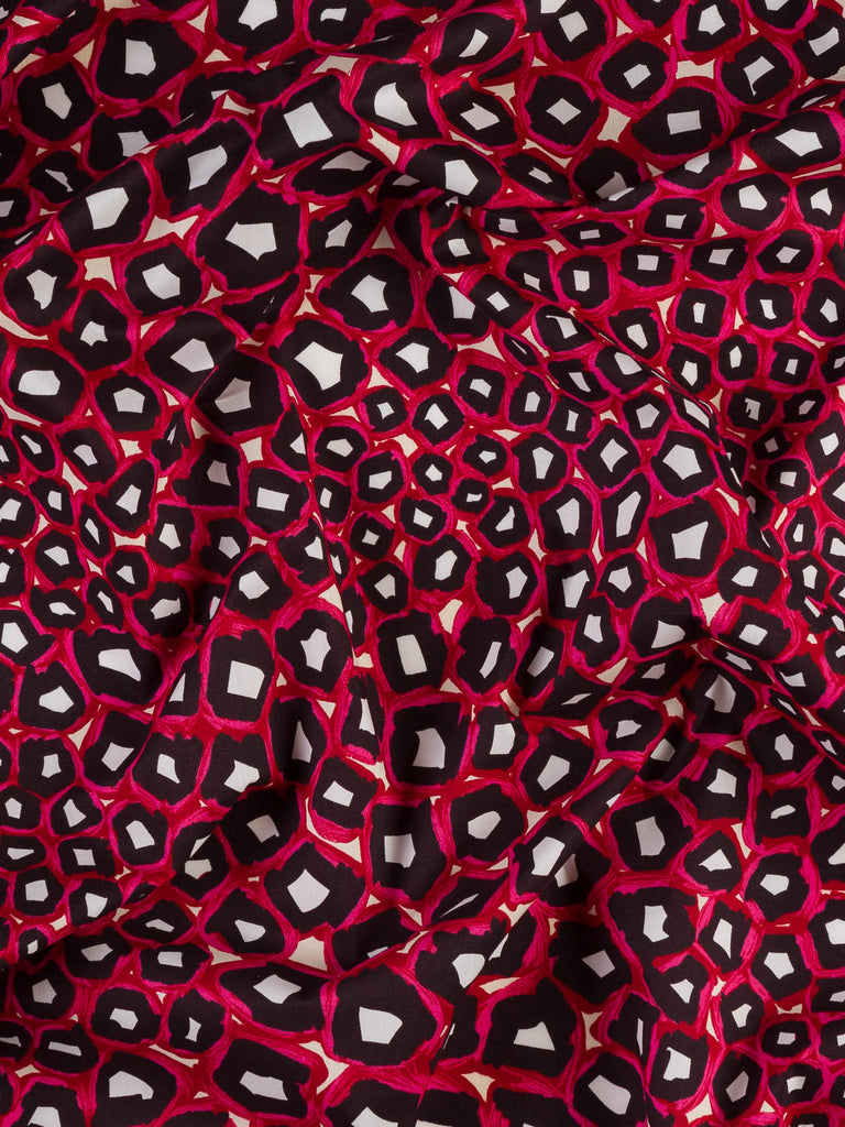 Cheetah Geo -  Stretch Cotton Poplin