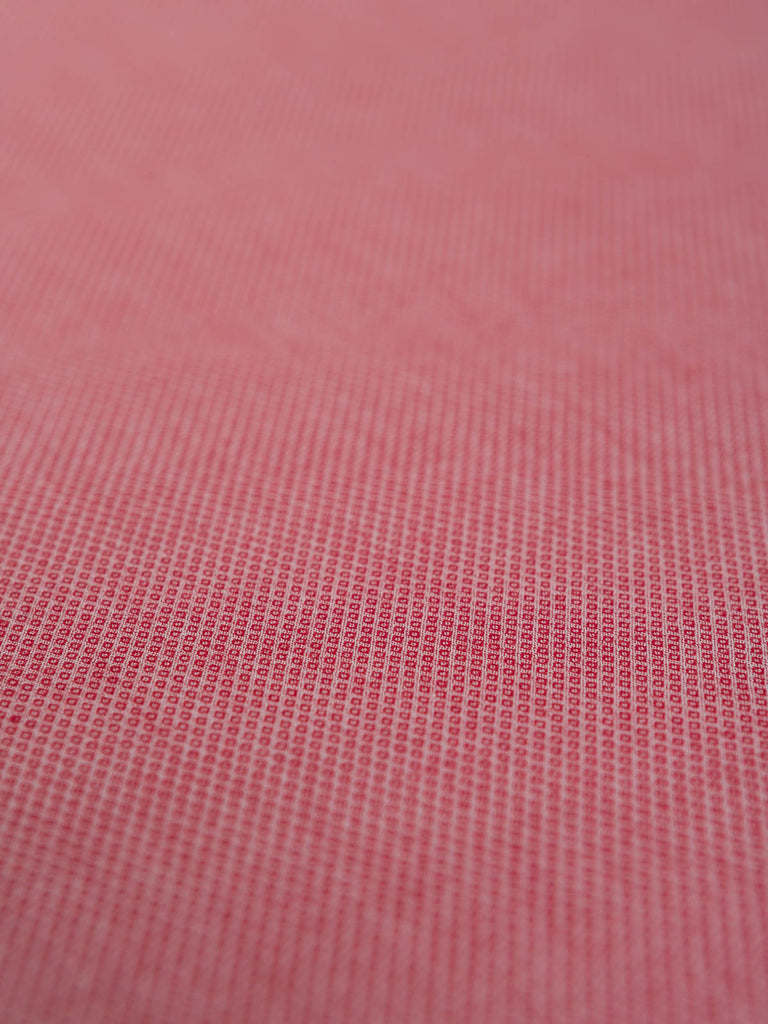Brick Red - Superfine Diamond Weave