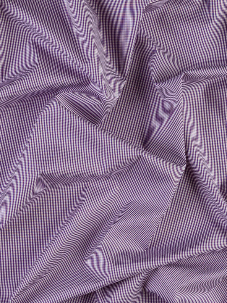 Lavender - Micro Gingham Check