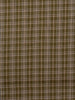 Khaki Plaid Twill - Linen and Cotton