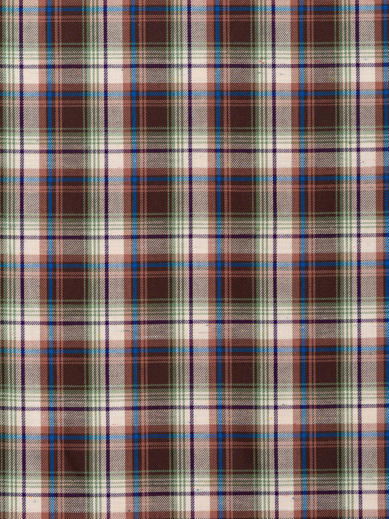 Country Plaid - Chocolate and Sage - Fabworks Online