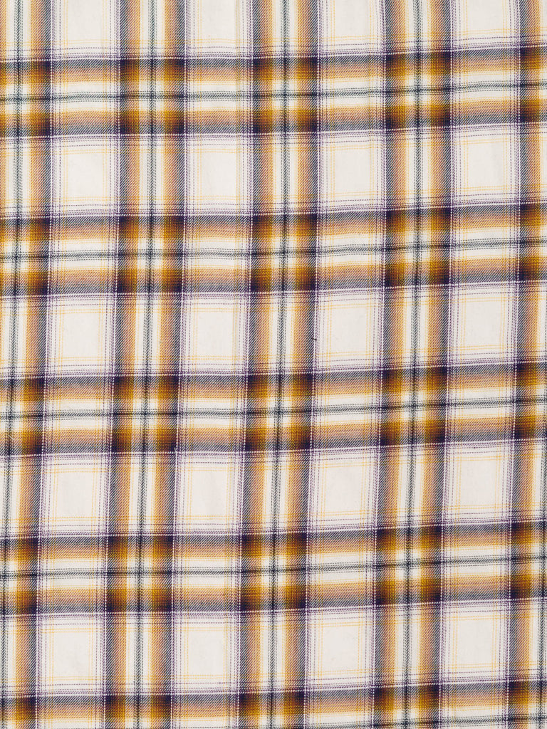 Mustard and Natural Plaid - Fabworks Online