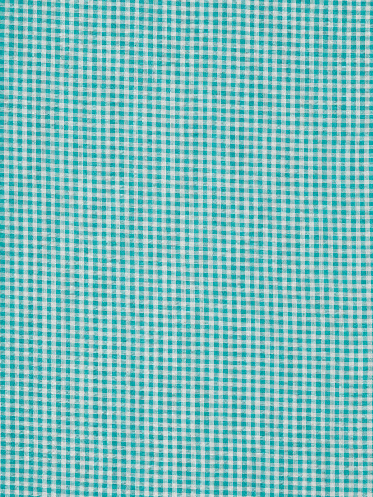 Classic Gingham - Turquoise - Fabworks Online