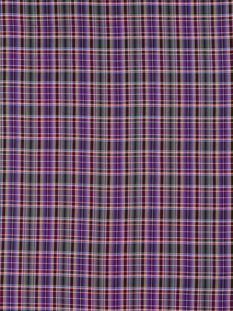 Lavender Fields Plaid - Superfine Shirting - Fabworks Online