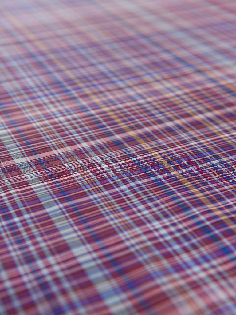 Pleased As Punch Plaid - Superfine Shirting