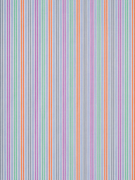 Zingy Bright Stripes - Purple, Orange and Green
