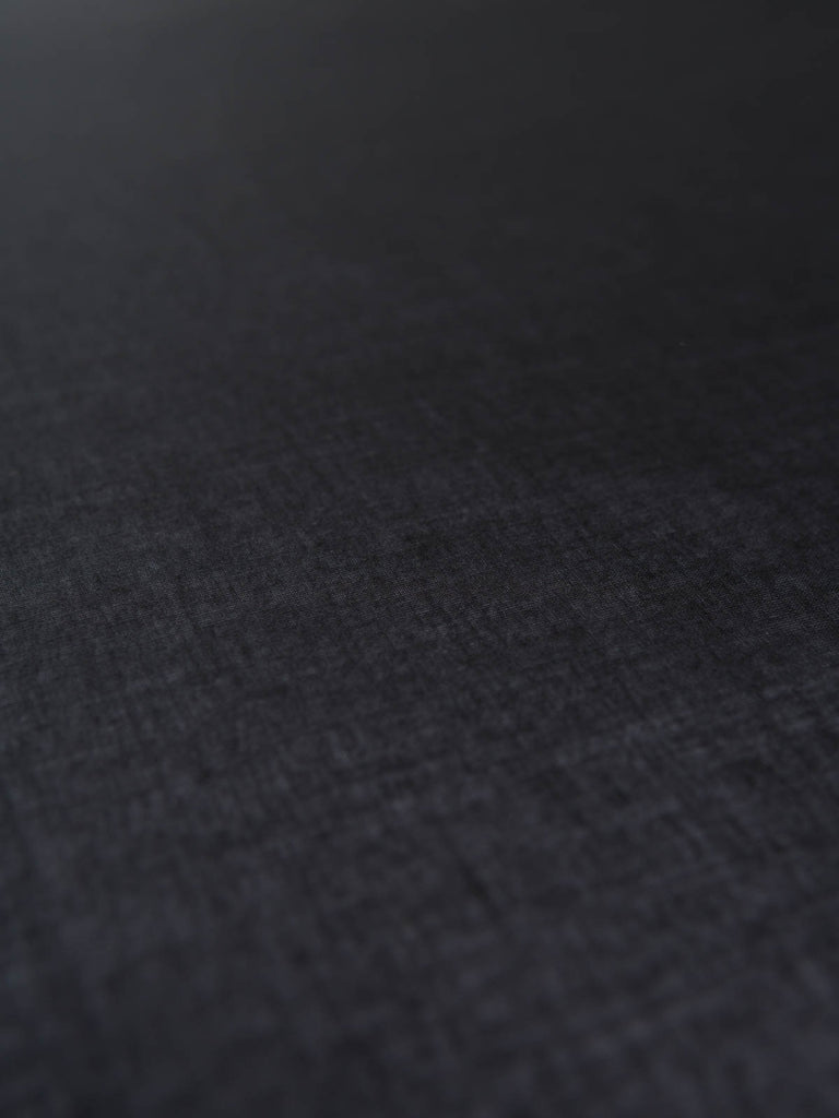 Black Cotton Voile