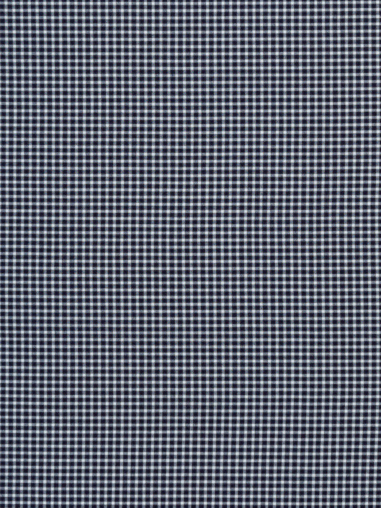 Small Gingham Shadow Check - Navy and Charcoal