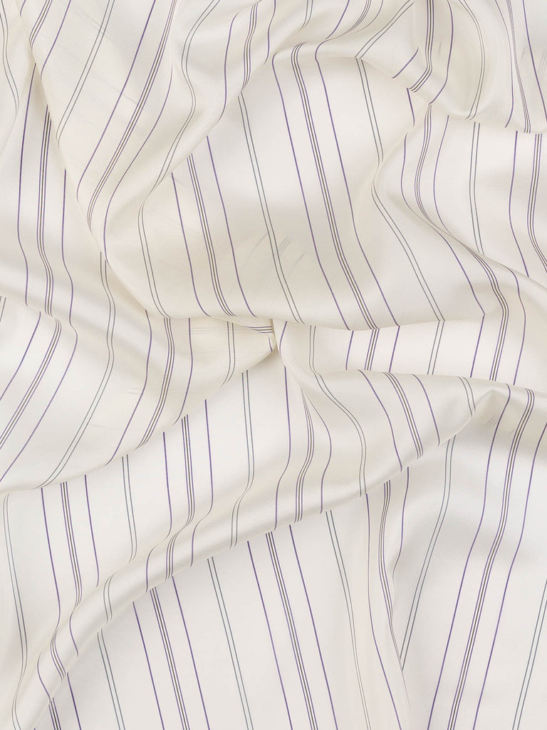 Ticking Stripe - Viscose / Rayon Lining