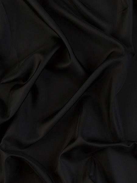 Solid Black - Nylon Lining
