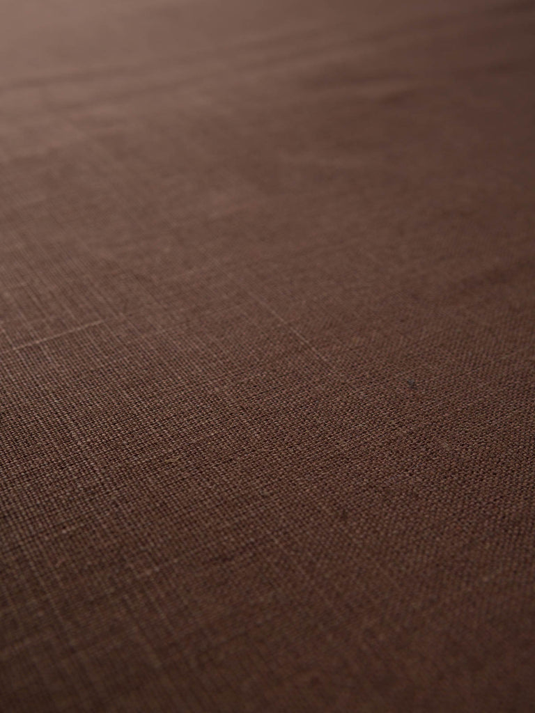 Rich Coffee - Rustic Linen - Fabworks Online