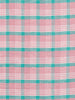Dusky Pink Plaid - Linen and Cotton