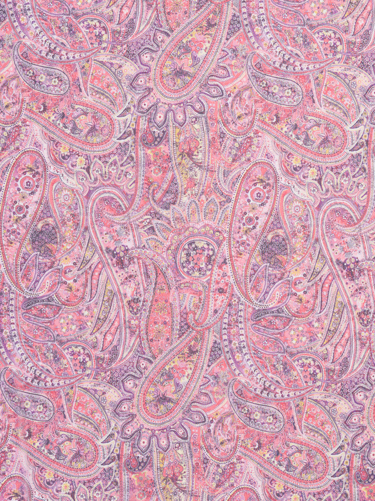 Pretty and Powerful Paisley Mesh - Fabworks Online