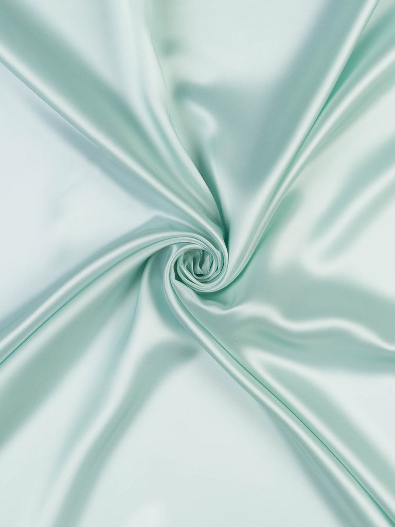 Iced Mint - Acetate & Viscose Lining - Fabworks Online