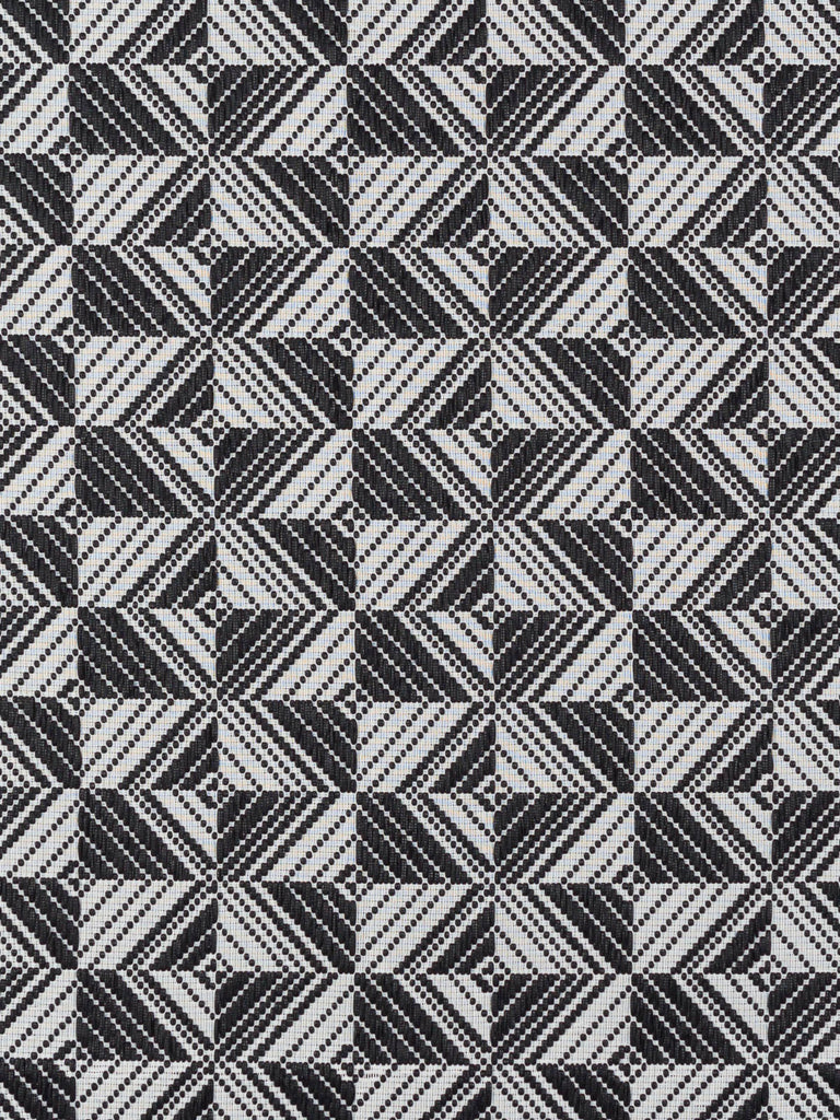 Monochrome Tessellated Laces - Fabworks Online