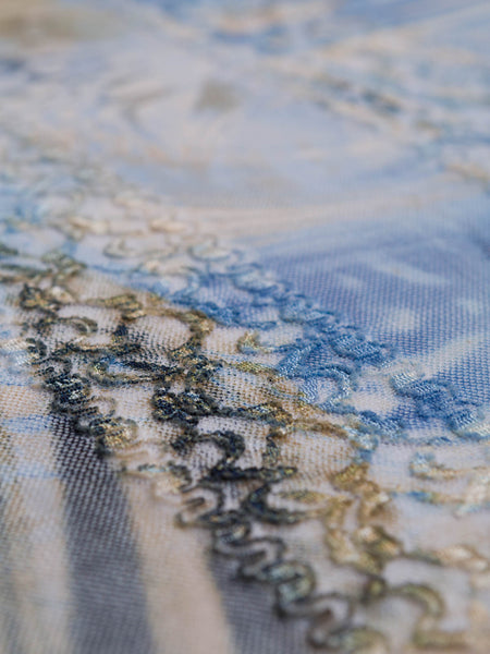 Oceanic Printed Lace - Fabworks Online
