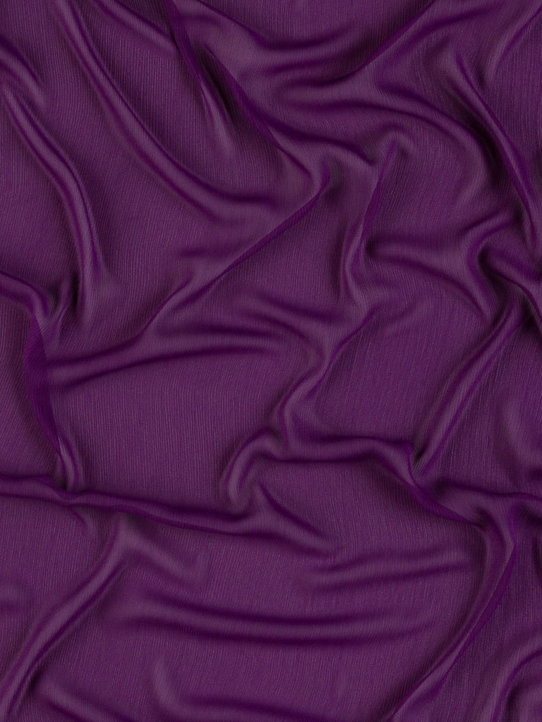 Purple Grape - Crinkle Georgette